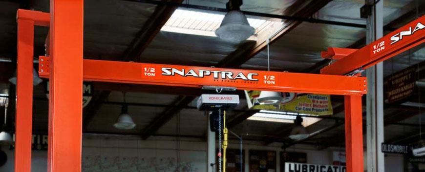 Snaptrac - Overhead crane description from Wikipedia - Kundel Inc